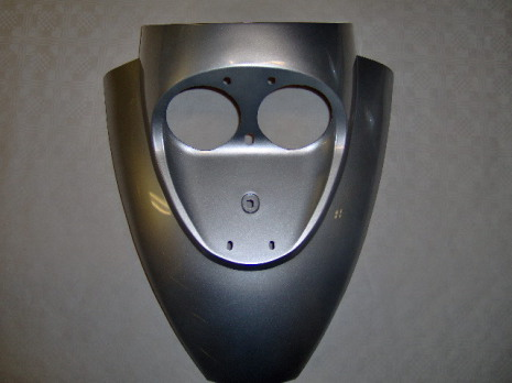 Frontkåpa Dubbel Silver BT008
