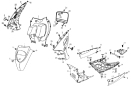 F28 Karosseri fram/Golv