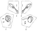 F02 Switchar & Backspeglar