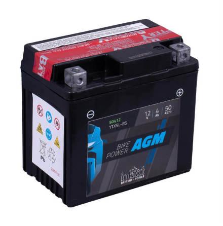 09 Batteri 12V 4Ah intAct Bike Power