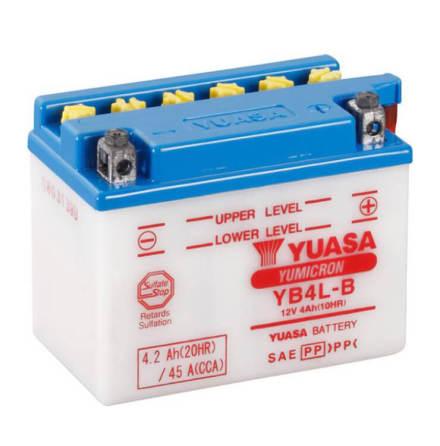 09 Batteri 12V 4Ah Yuasa