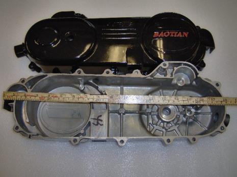 01 Baotian Motorkåpa Vä 46cm